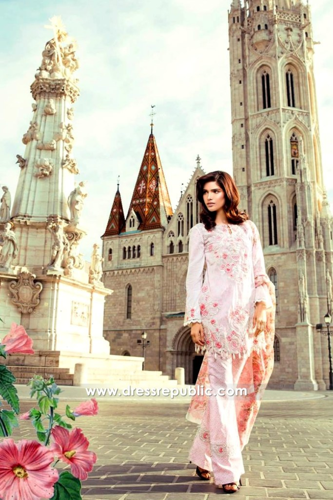 DRP6550 - Mina Hasan Embroidered Lawn 2017