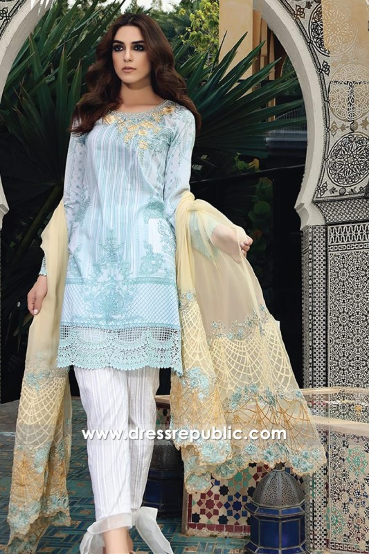 DRP6663 - Maria B Lawn Eid Collection 2017