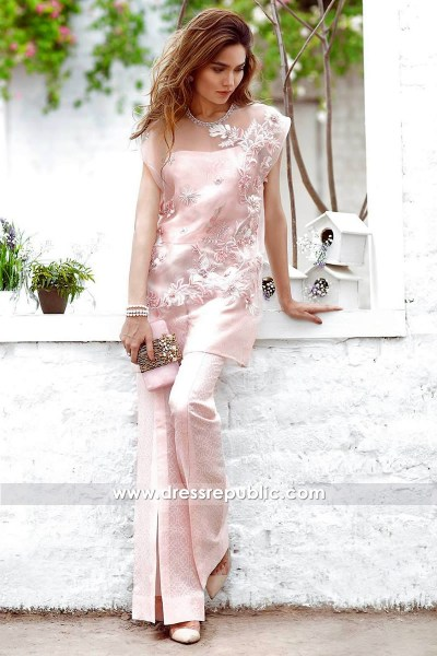 DR14305 - Designer Indian Party Wears in Pink