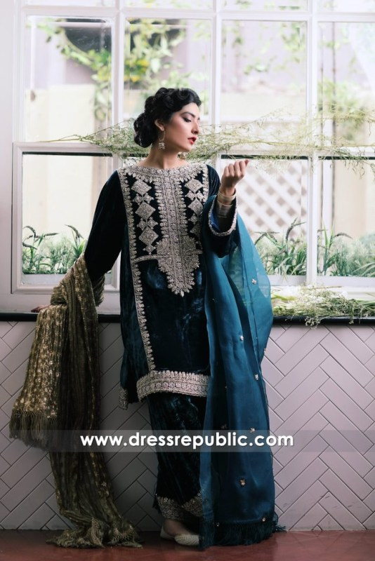 DR14389b - Pakistani Evening Wears 2017 UK
