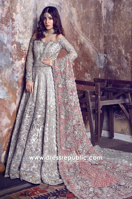 DR14434 - Khawer Iqbal Designer Bridal Dresses 2017 2018