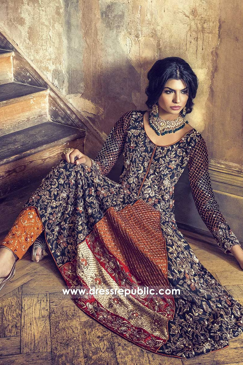 DR14464 - Pakistani and Indian Wedding Guest Dresses 2018 UK