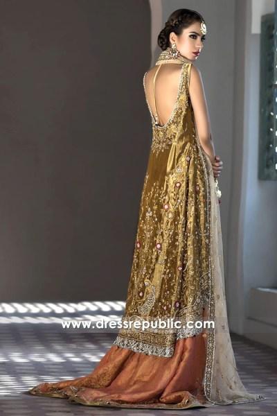 DR14497b - Pakistani Bridal Designer Dress Shop Online in Denmark, Sweden