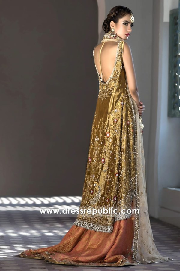 DR14497b - Pakistani Bridal Designer Dress Shop Online in Denmark, Sweden