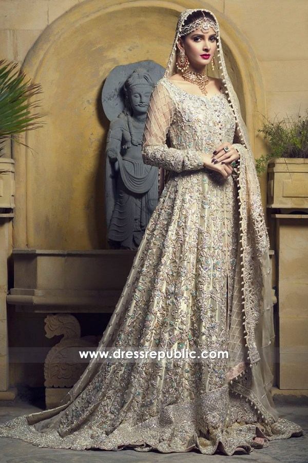 DR14505 - Zainab Chottani Wedding Dress 2018 USA Buy Online Smoke Green