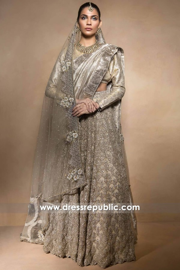 DR14516 - Pakistani Designer Mahgul Wedding Dresses 2017 2018