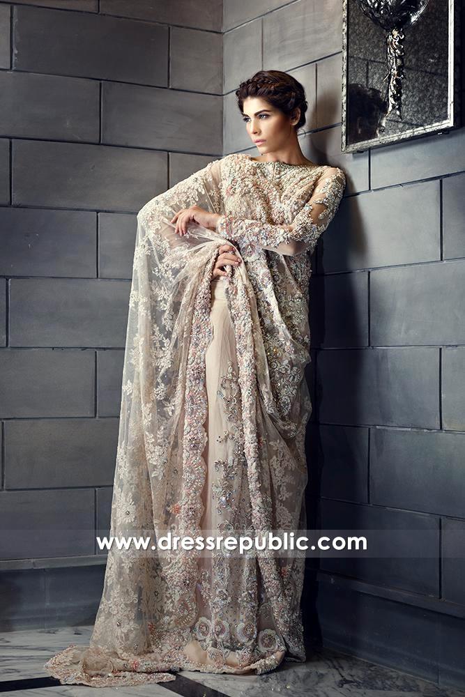 DR14581 Ammara Khan Bridal Collection 2018, Bridal Dress for Walima UK