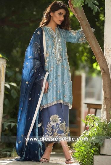 dr14541 Zara Shahjahan Party Wears 2018 Los Angeles, New York, USA