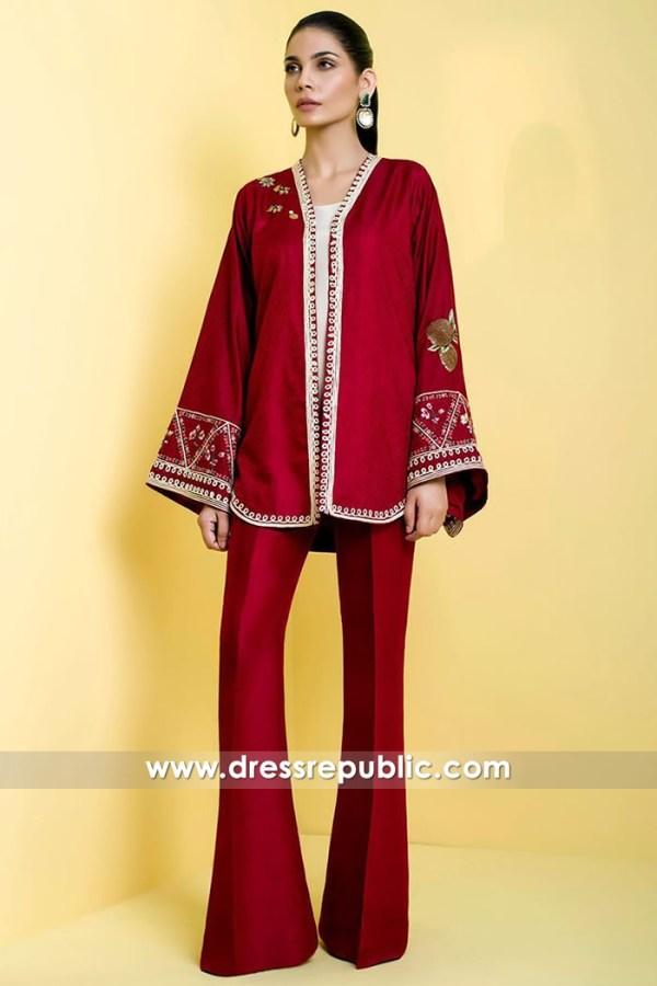 DR14604 Pakistani Designer Dresses for EID Online London, Manchester, England
