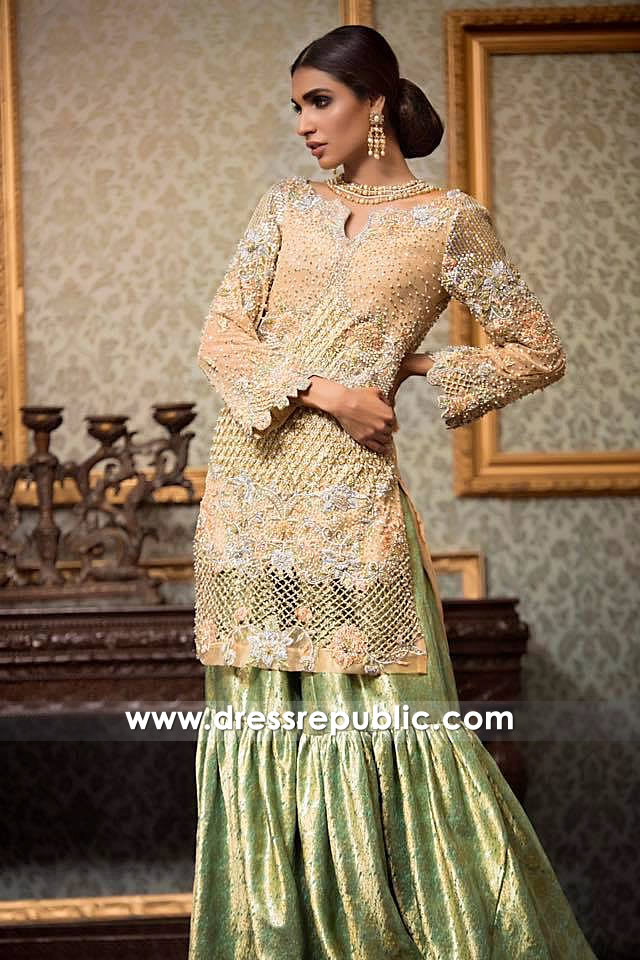 DR14639 Pakistani Special Occasion Dresses 2018 Chicago, Aurora, Illinois