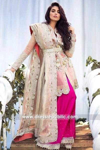 DR14649 Bridal Sharara Dress 2018 UK, USA, Canada, Australia Wedding Sharara