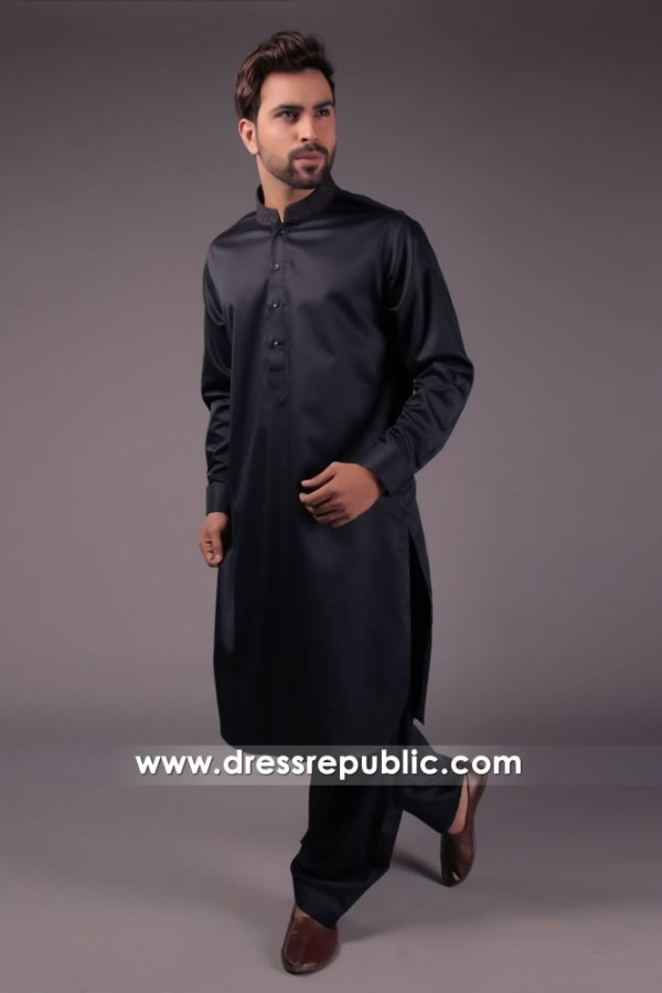 DRM5171 Embroidered Men's Kurta from Pakistan Shop Online Eid Collection