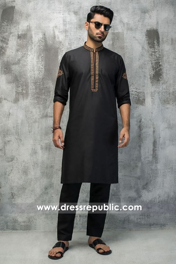 DRM5188 Men's Kurta Shalwar for Nikkah, Formal Groom Shalwar Kameez 2018