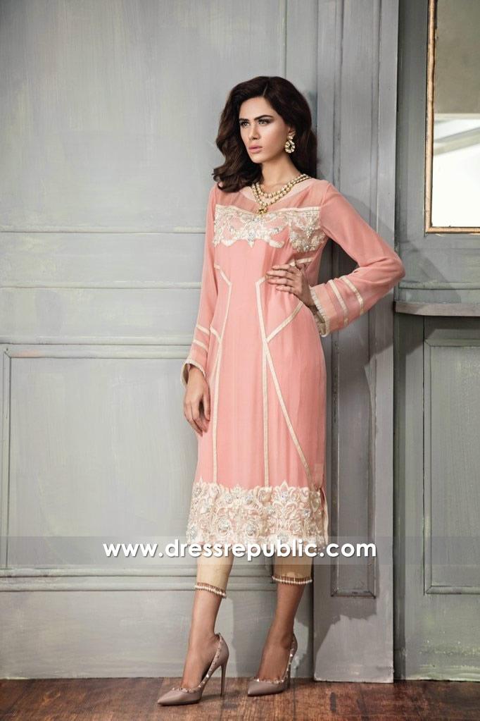 DR14655 Pakistani Women's Dresses for Eid 2018 London, Manchester, UK