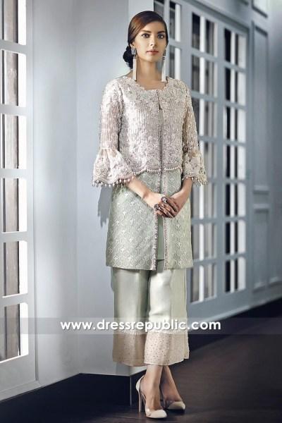 DR14684 Pakistani Designer Eid Dresses 2018 Norway, Denmark, Sweden, France
