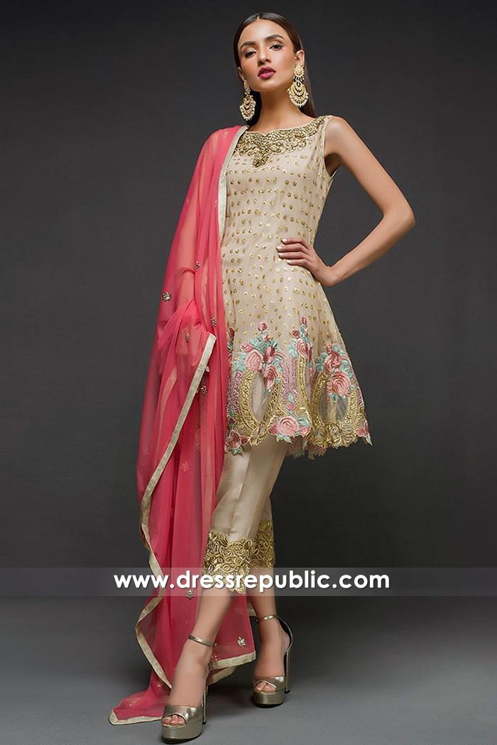 DR14709 Zainab Chottani Peplum Dresses 2018 USA, Canada, UK, Australia