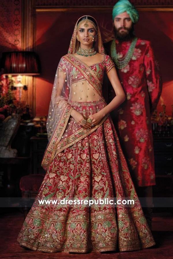 DR14827 Sabyasachi Bridal Lehenga Choli Cost, Buy Sabyasachi Bridals Online