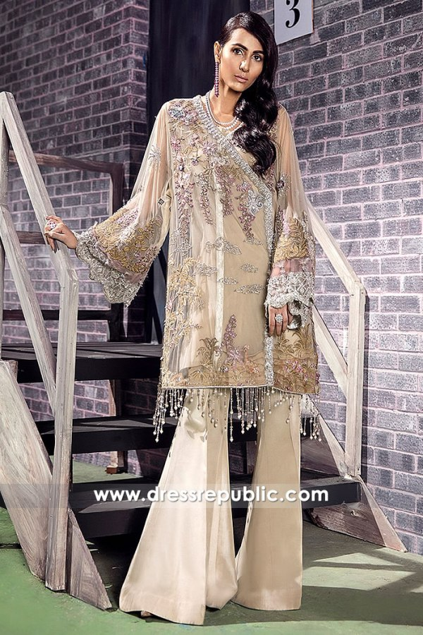 DR14873 Angarkha Style Dress London, Manchester, Birmingham, Sheffield, UK