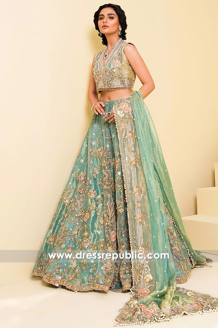 DR14886 Sadaf Fawad Khan Bridals Collection 2018 USA, Canada, UK, Australia