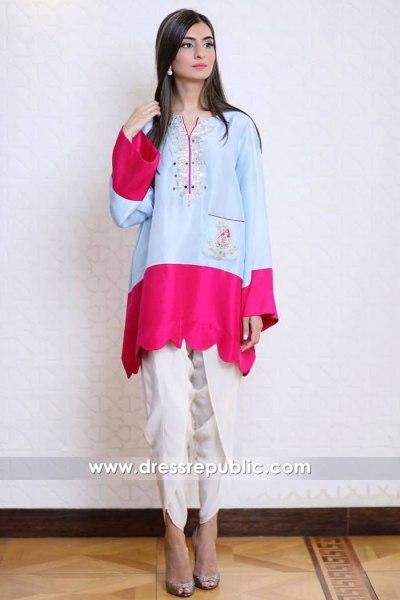 DR14906 Casual Pakistani Dresses 2018 Los Angeles, San Jose, San Diego, California