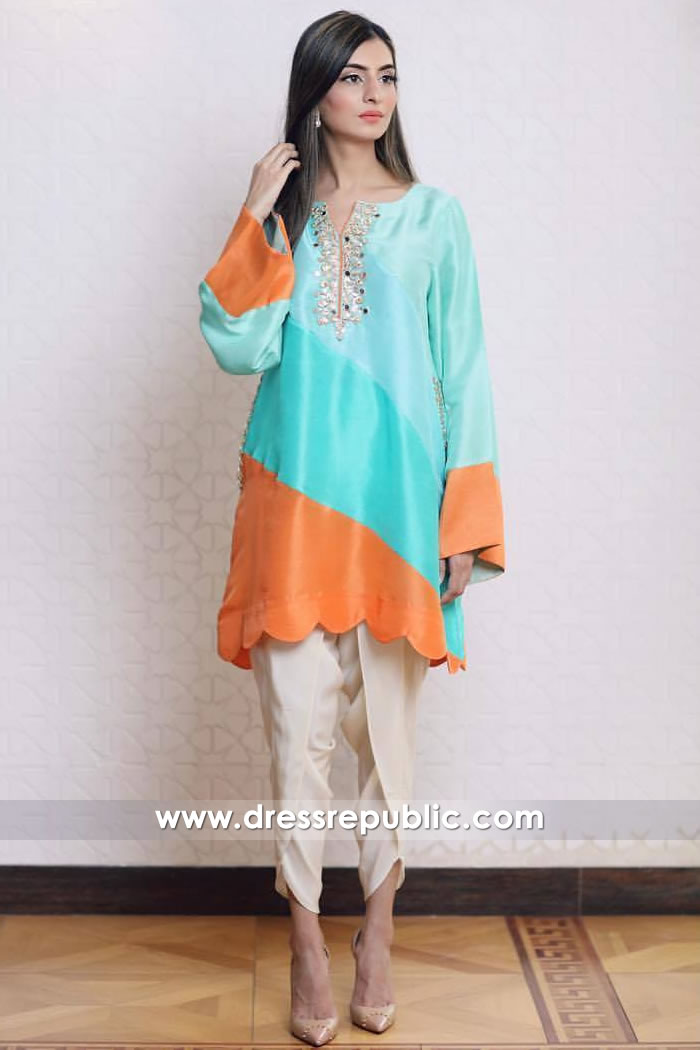 DR14908 Zehra Saleem Eid Collection 2018 Online USA, Canada, UK, Australia