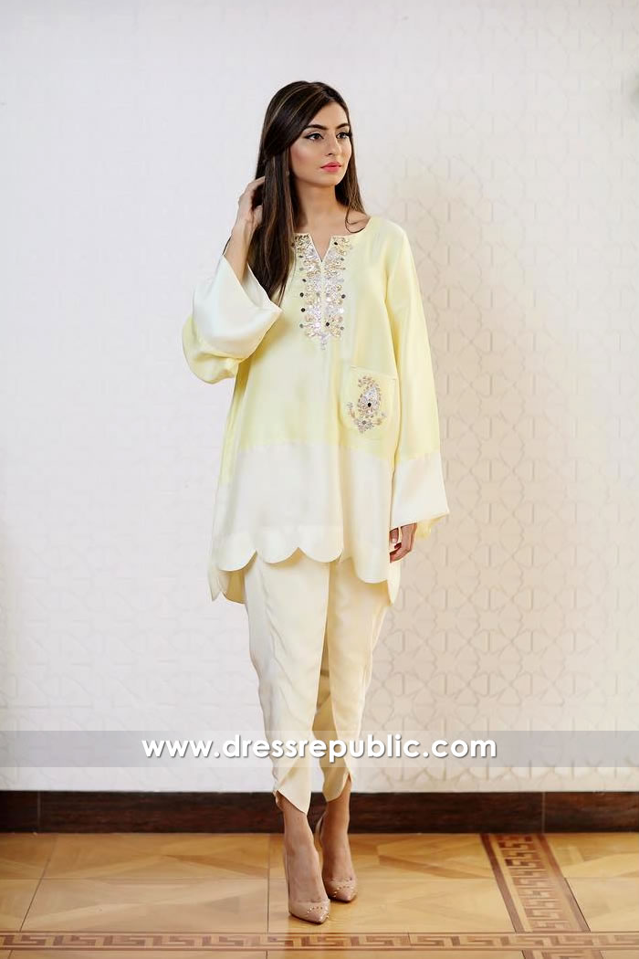 DR14919 Pakistani Casual Dresses Eid ul Azha Collection 2018 Shop Online
