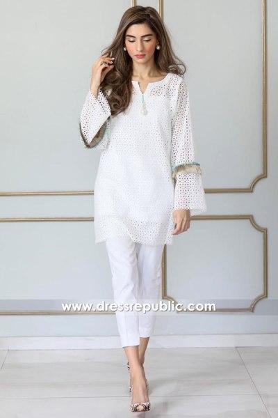 DR14944 Pakistani Casual Dresses 2018 Sweden, Netherlands, Denmark, Belgium