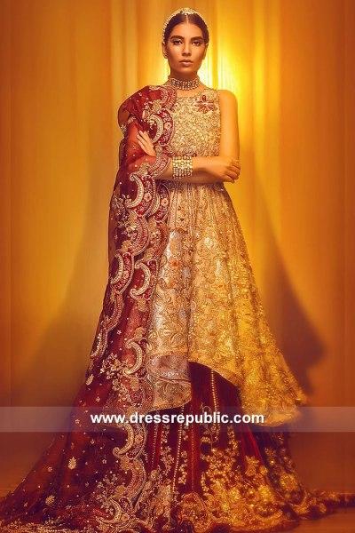 DR15056 Pakistani Peplum Dress Online UK, USA, Canada, Australia
