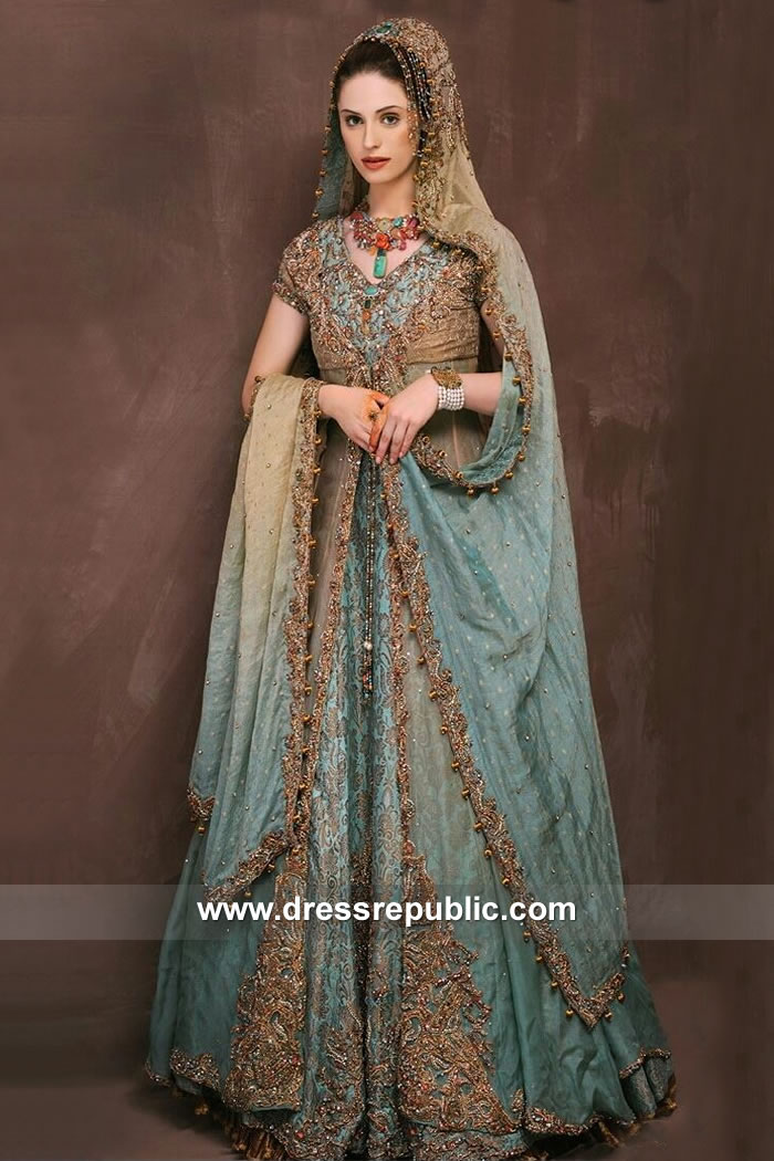 DR15125 Bengali Bridal Wear Lehenga in London, Manchester, Birmingham, UK