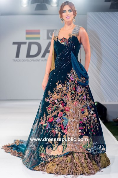 DR15127 Nilofer Shahid Bridal Collection 2018 Buy in USA, Canada, UK, Europe
