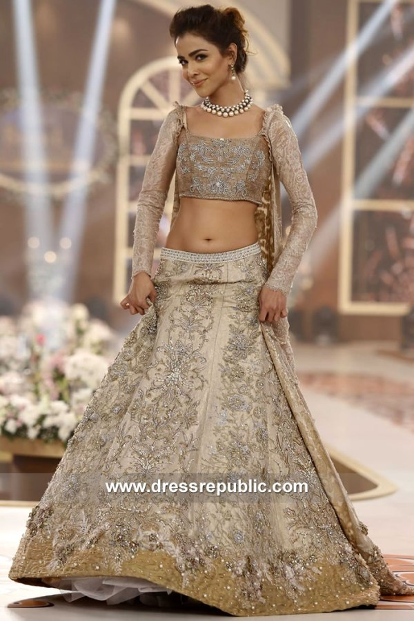 DR15128 Nilofer Shahid Bridal Dresses 2018 London, Manchester, Birmingham, UK