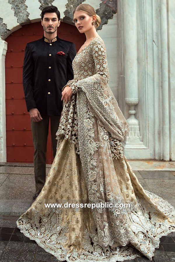 DR15141 Sania Maskatiya Wedding Dresses 2018 in Peplum Style Buy in Canada