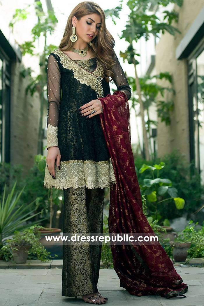 DR15170 Angrakha Style Kurti USA Online New York, New Jersey, Texas, California