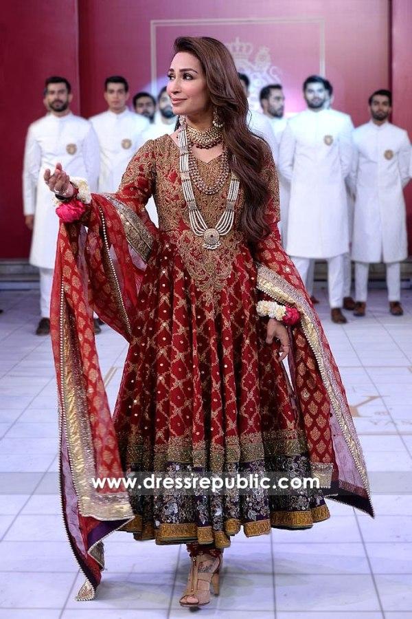 DR15207 Reema HSY Anarkali Dress in Bridal Couture Week 2018 Shop Online