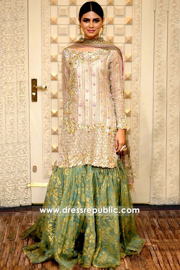 DR15258 Nilofer Shahid Mehndi Dresses 2019 London, Manchester, Birmingham