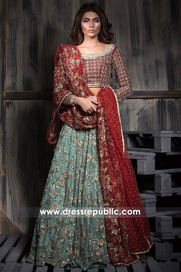 DR15268 Bridal Wear Pakistani Lehenga 2019 Dallas, Houston, San Antonio, Texas