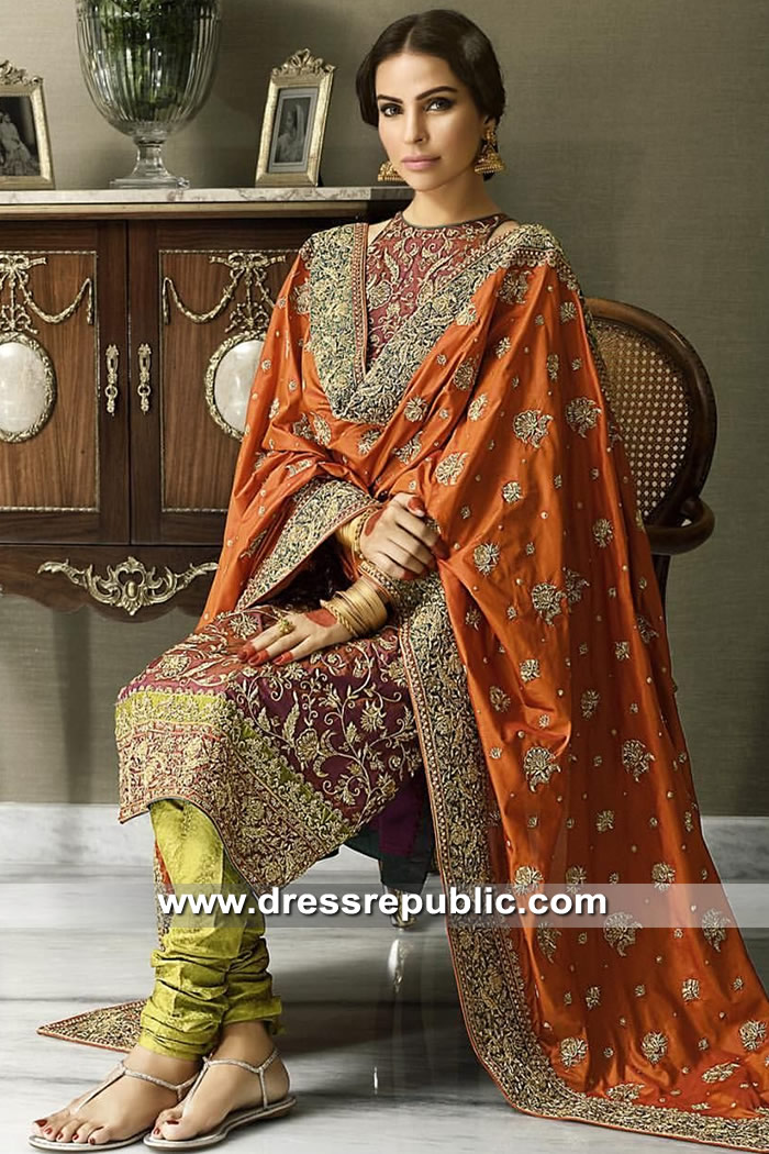 DR15309 Sister of the Bride Anarkali, Sister of the Groom Anarkali Dresses 2019