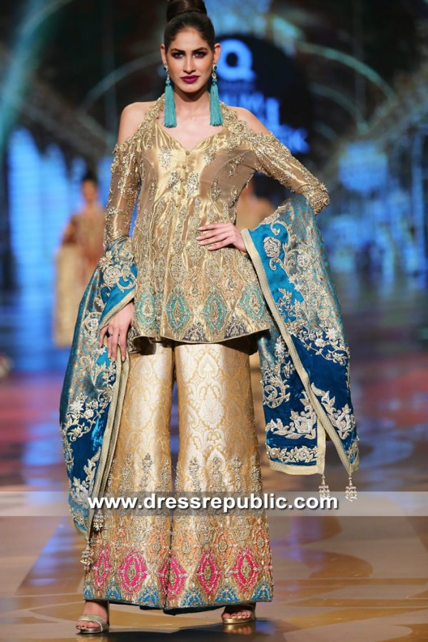 DR15316 Special Occasion Wear Pakistani Designer Dresses 2019 Collection