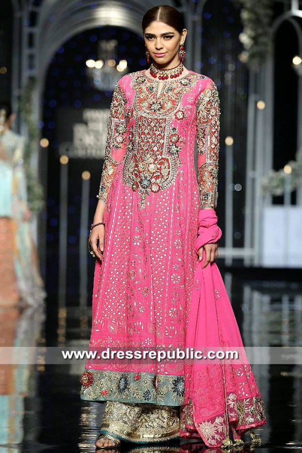 DR15322 Anarkali Bridal Sharara 2019 Collection USA, UK, Canada, Australia