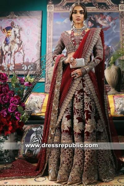 DR15346 Sana Safinaz Bridal Collection 2019 Buy in California, Illinois, Nevada