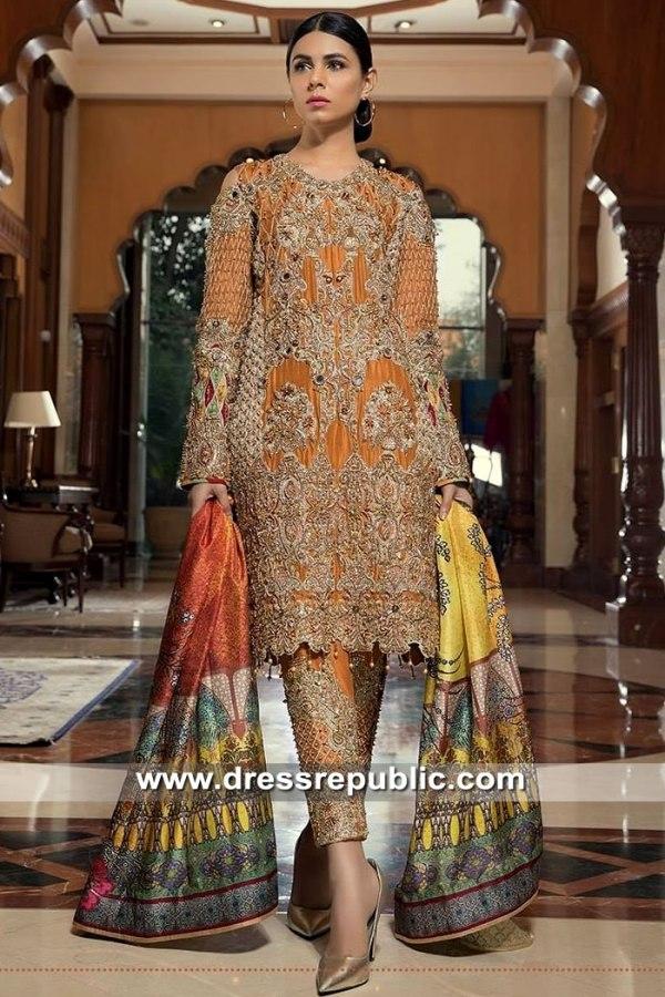 DR15364 Pakistani Designer Dresses Online 2019 USA, Canada, UK, Australia