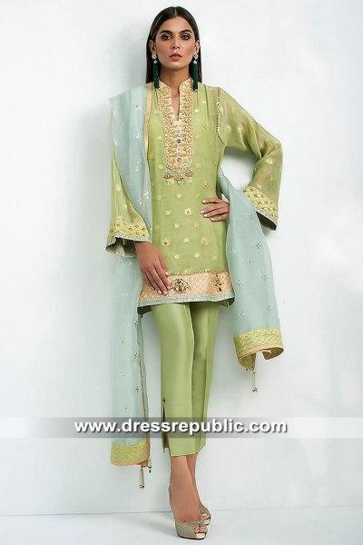 DR15415 Eid 2019 Mint Green Shalwar Kameez Buy in South Africa