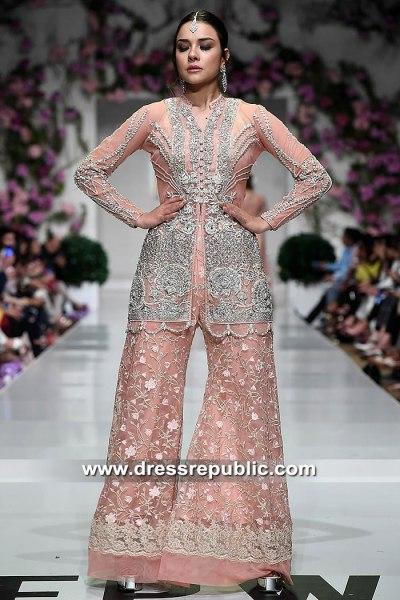 DR15467 Pakistani Designer Wedding Guest & Occasion Wear Dresses 2019