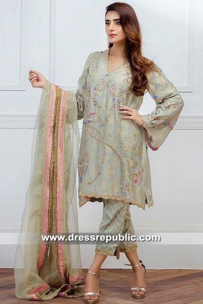 DR15481 Farida Hasan Party Dresses 2019 USA, Canada, UK, Australia
