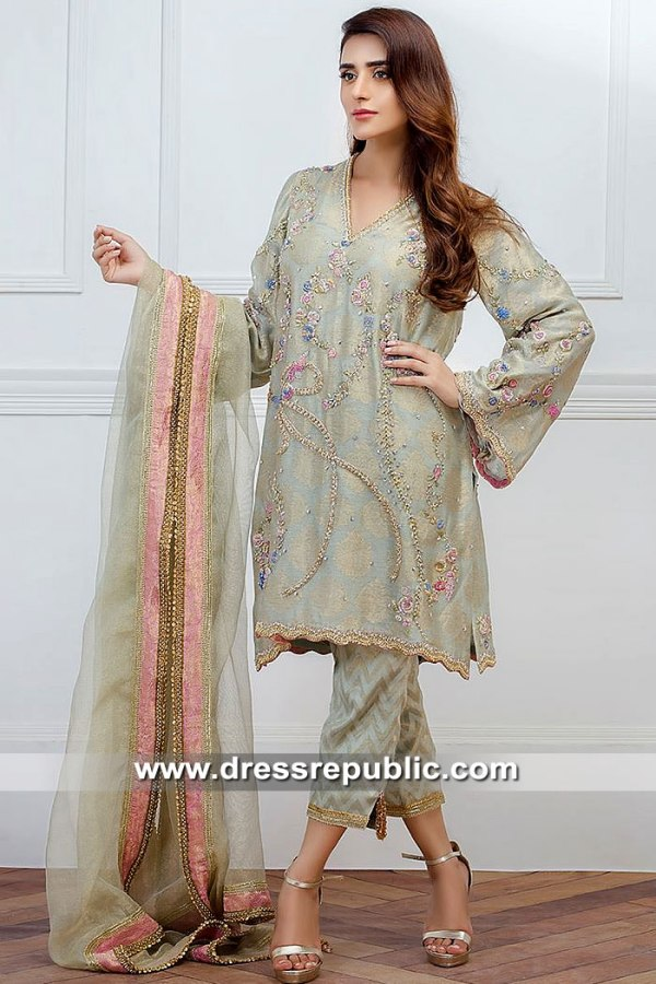 DR15481 Farida Hasan Party Dresses 2019 USA, Canada, UK, Australia