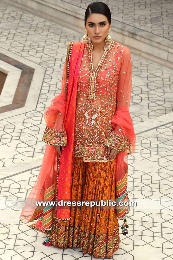 DR15533 Pink Dress for Desi Engagement Bride, Engagement Party Bridal Lehenga