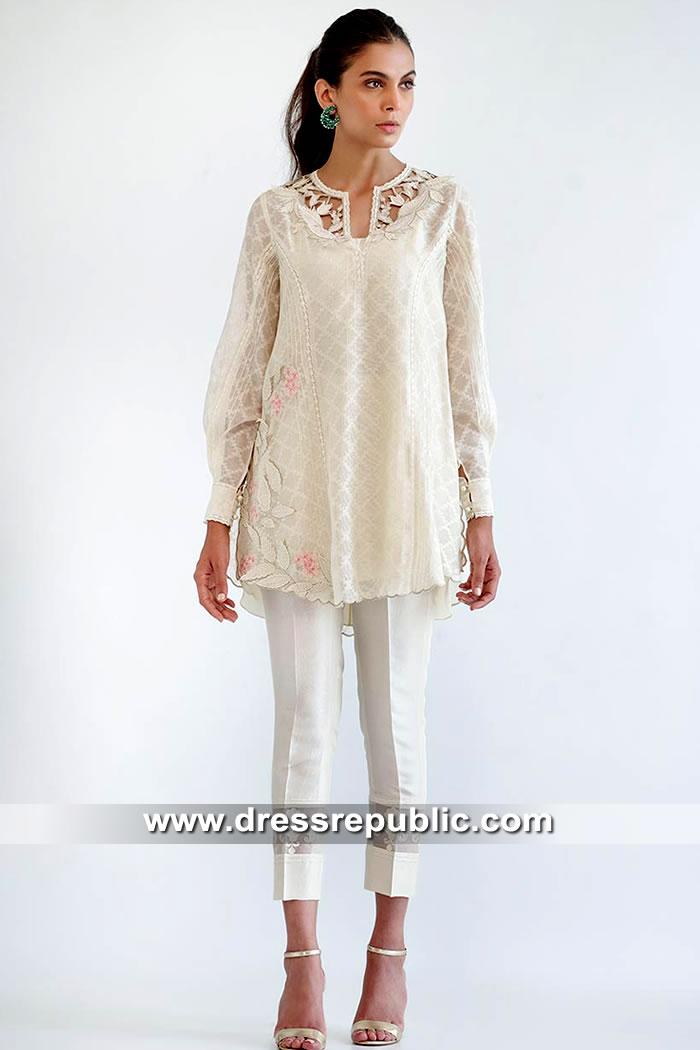 DR15562 Pakistani Street Style Dresses 2019 Saudi Arabia, UAE, Oman
