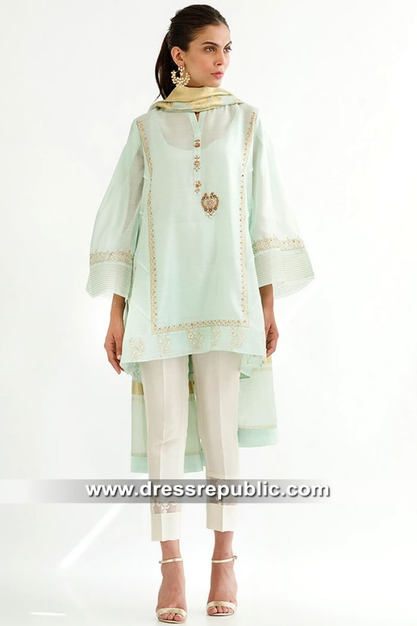 DR15567 Pakistani Designer Kurti 2019 London, Manchester, Birmingham, UK