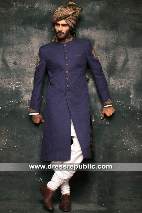 DRM5305 Groom Sherwani for Wedding Houston, Dallas, San Antonio, Texas