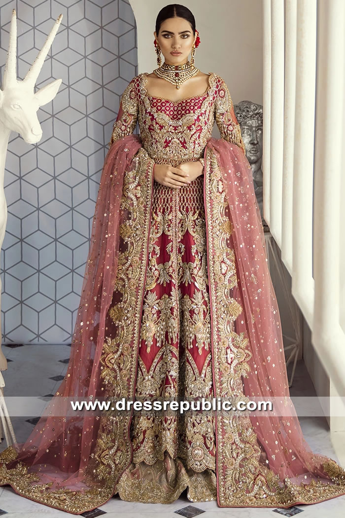 DR15622 Suffuse by Sana Yasir Bridal Prices Buy in New York, New Jersey, USA